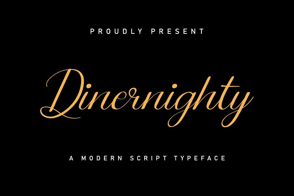 Dinernighty Font