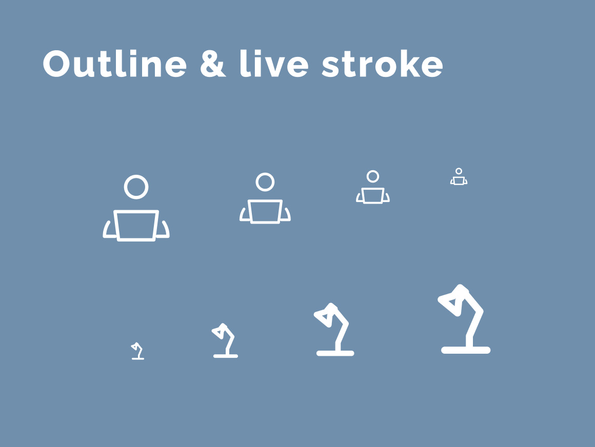 Office Work & Life Icons Set