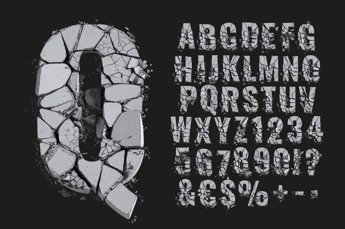 FOT Concrete Font