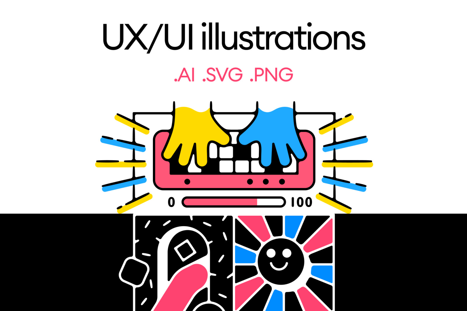 UX/UI Illustrations