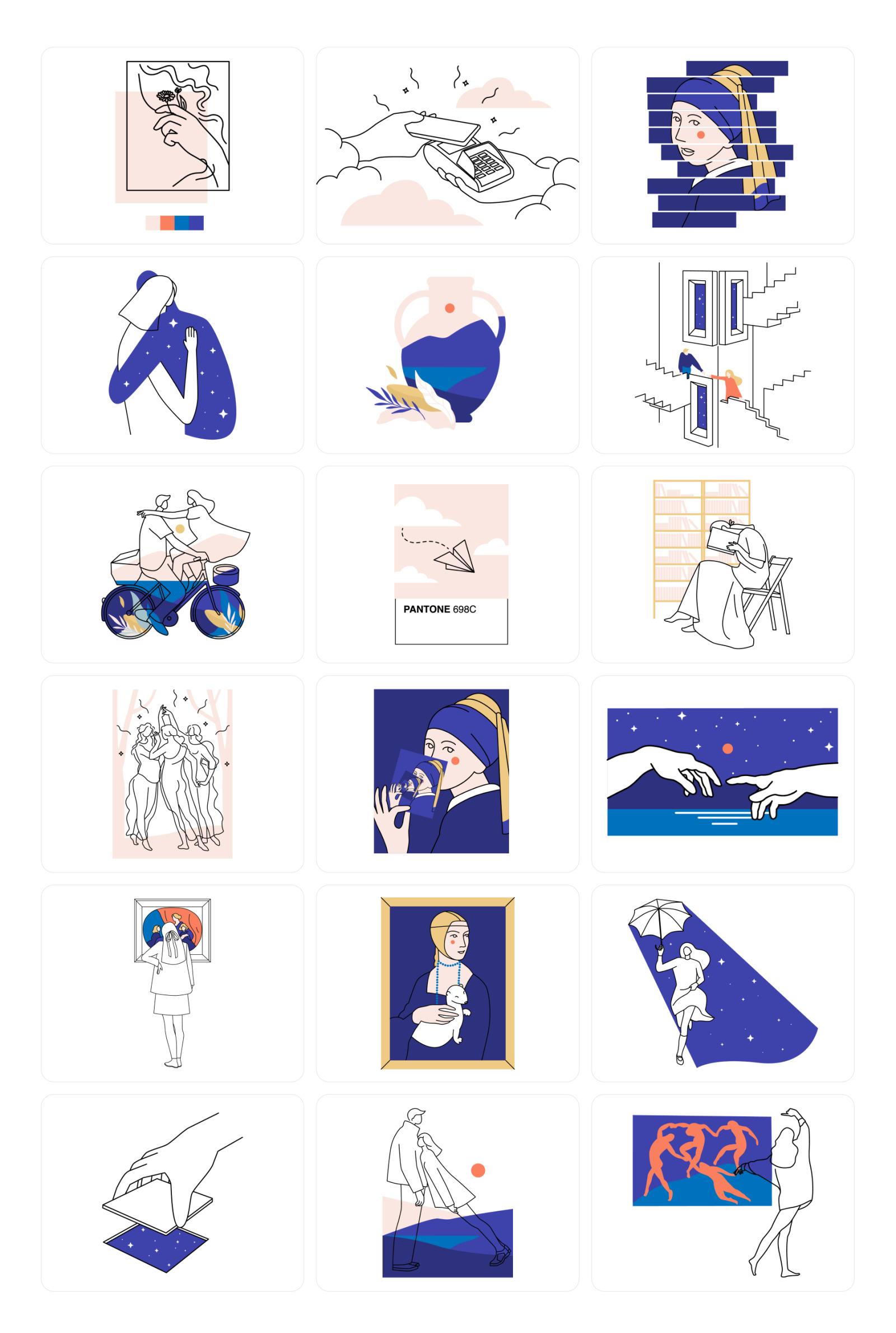 Midnight Illustrations