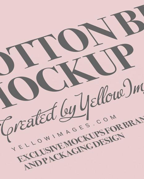 Cotton Buds Box Mockup