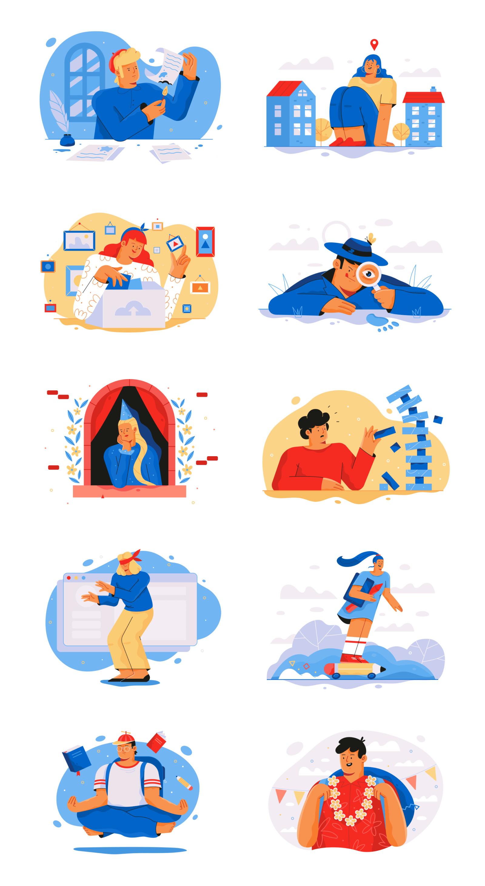 Romeo Illustrations