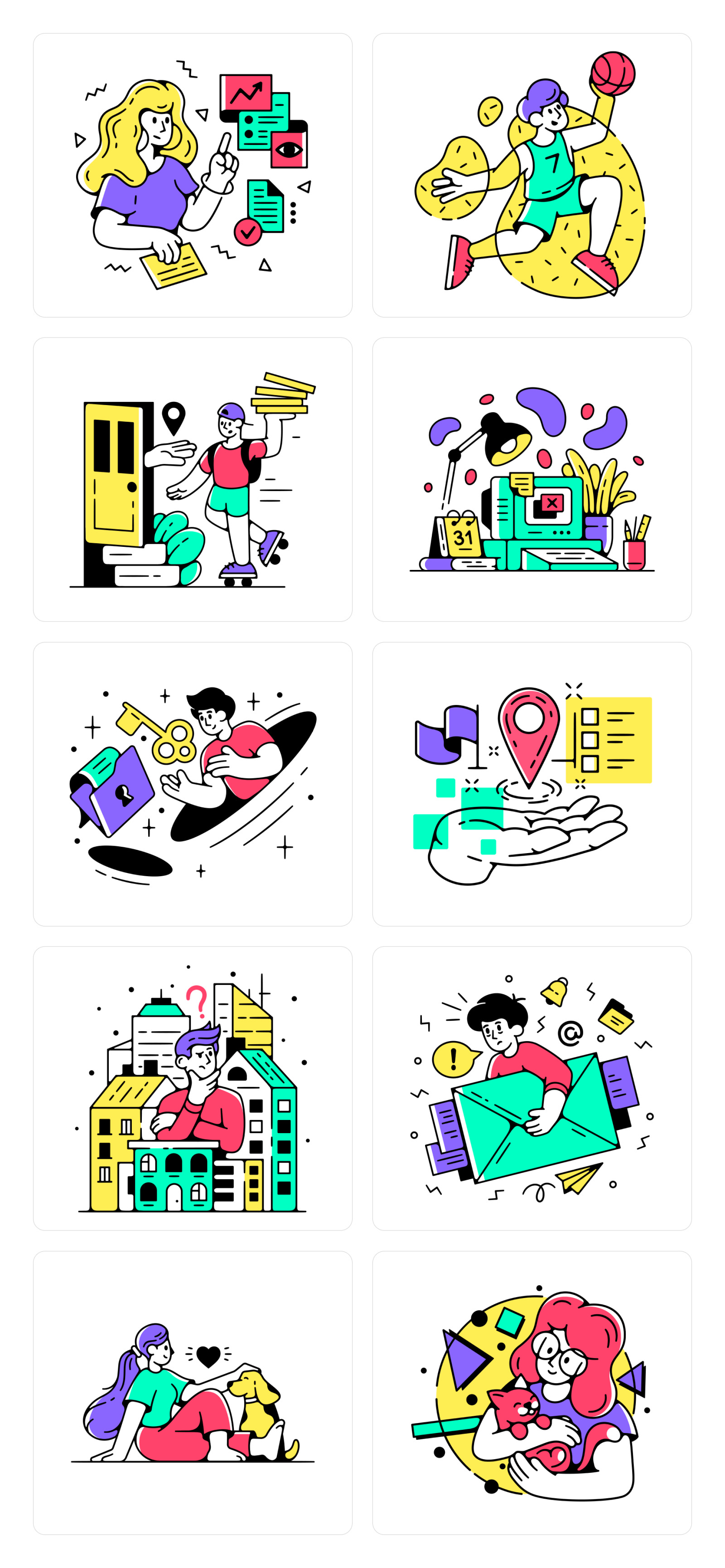 Friday Illustrations