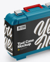 Tool Case Mockup - Half Side View