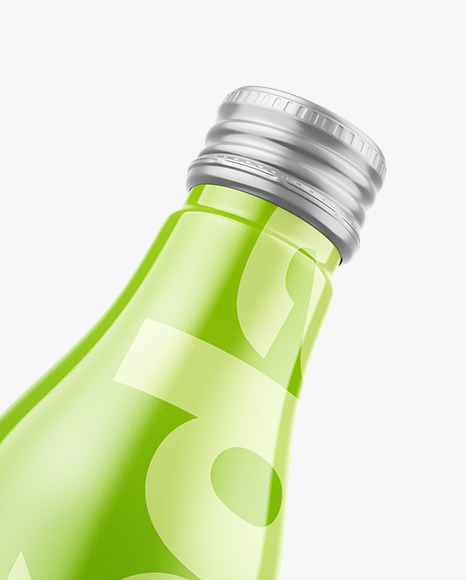 Fly Glossy Drink Bottle Mockup
