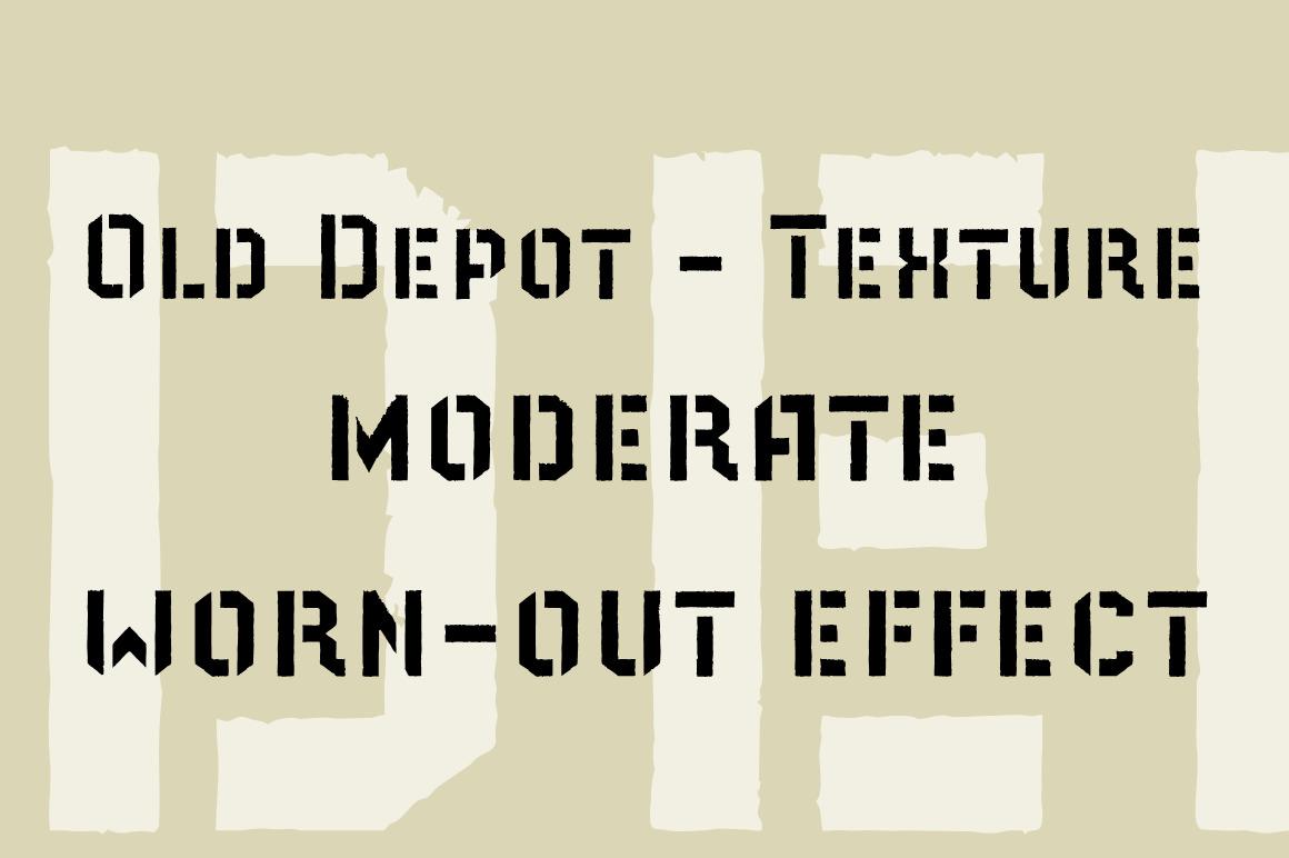 Old Depot Font