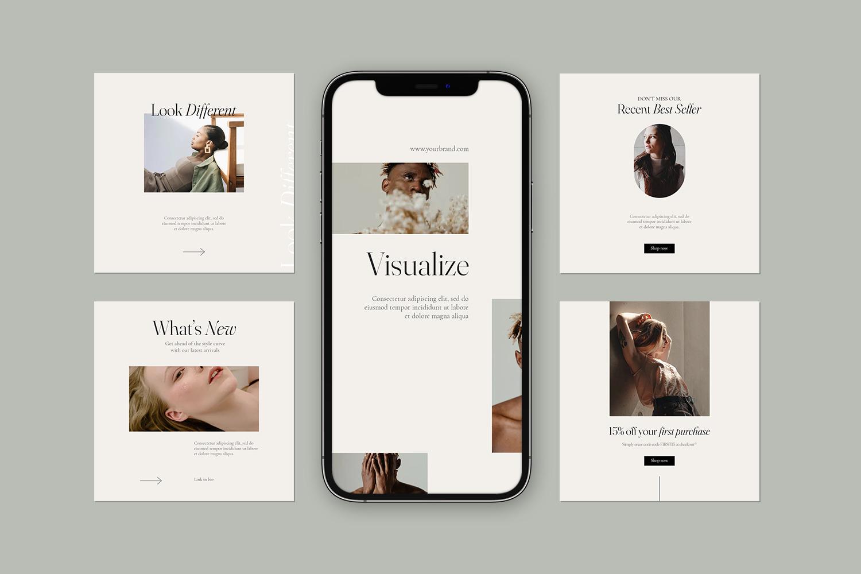 Efforale - Instagram Stories & Post Template