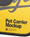 Pet Carrier Mockup
