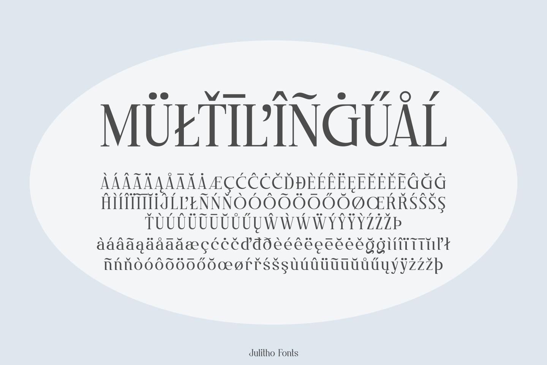 Julitho Fonts