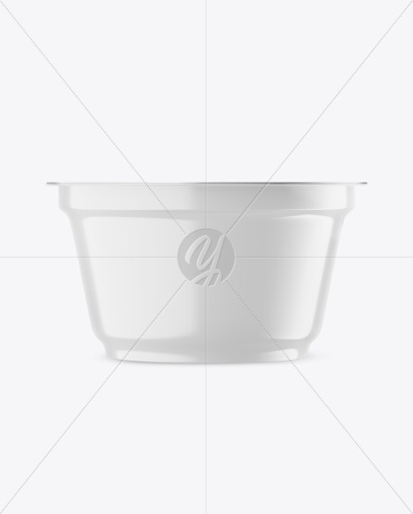 Plastic Glossy Cup Mockup