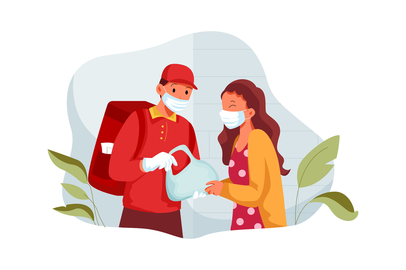 M226_Food Delivery Illustrations