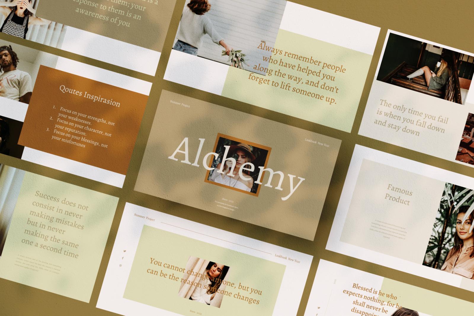Alchemy Powerpoint Template