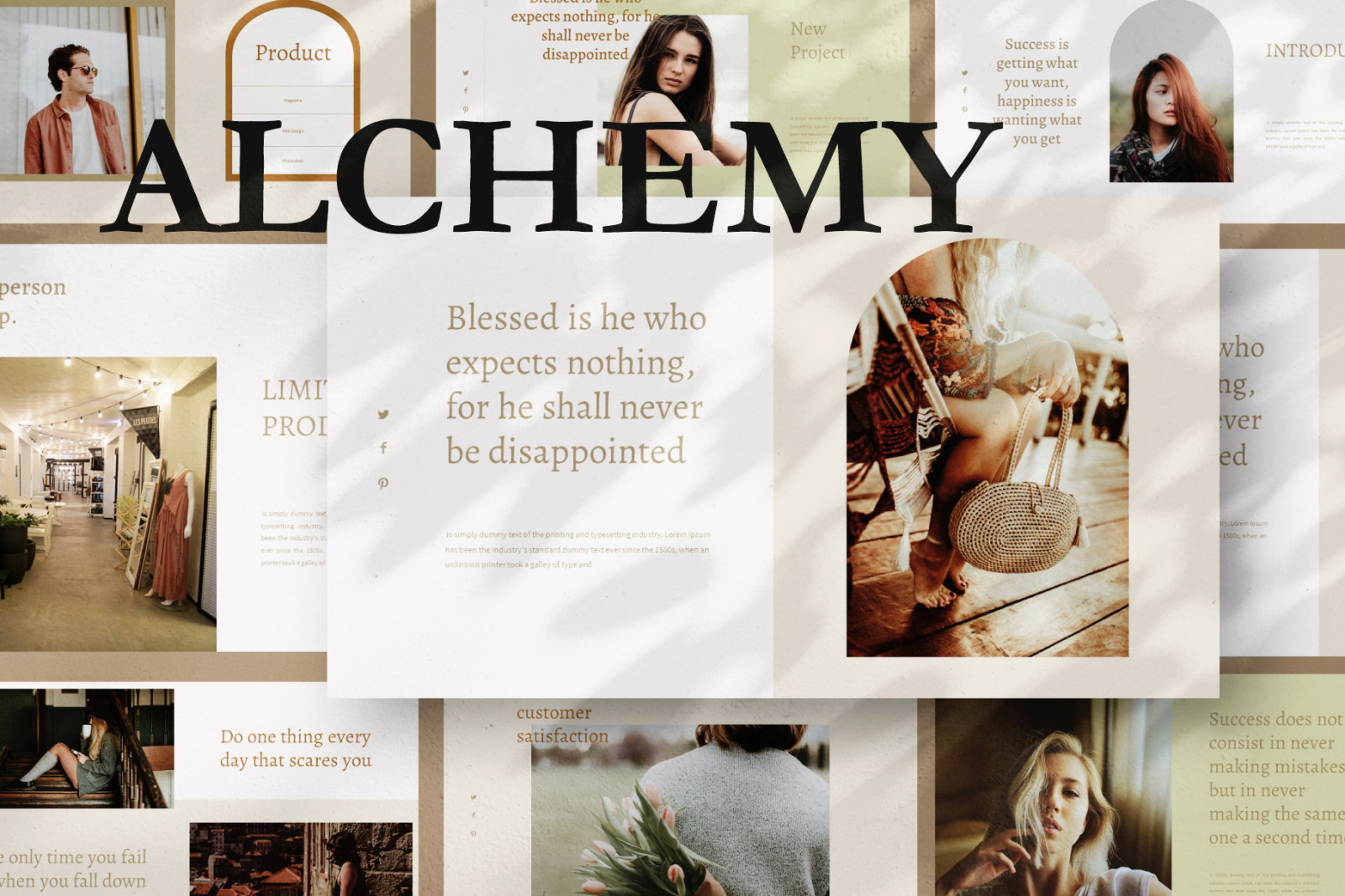 Alchemy Keynote Template
