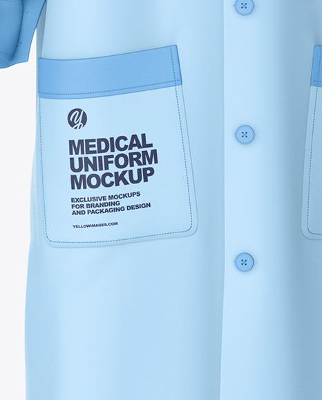 Medical Uniform Mockup – Front View