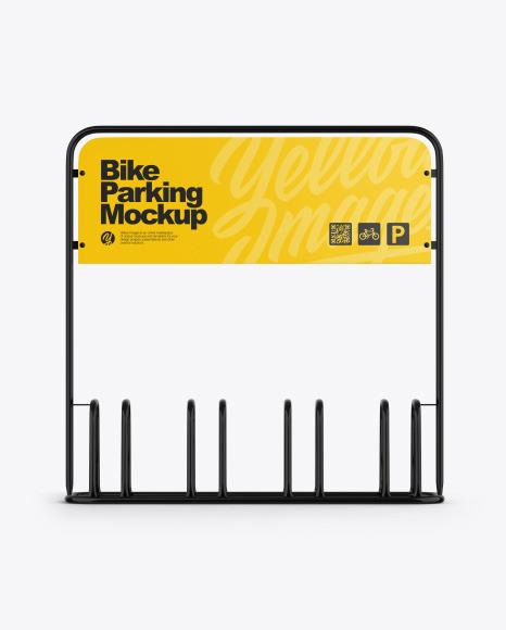 Bike Parking Mockup