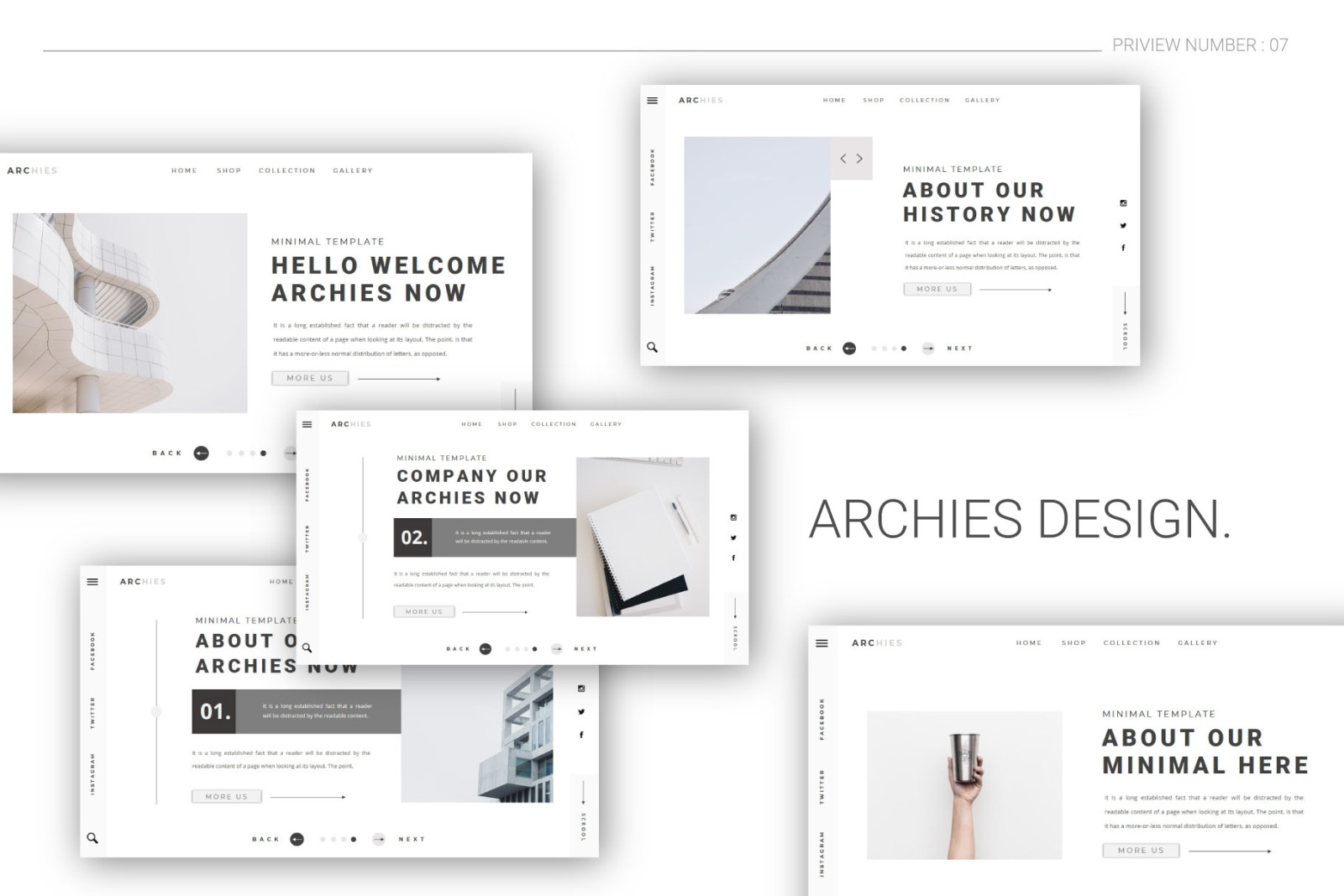 ARCHIES Powerpoint Template