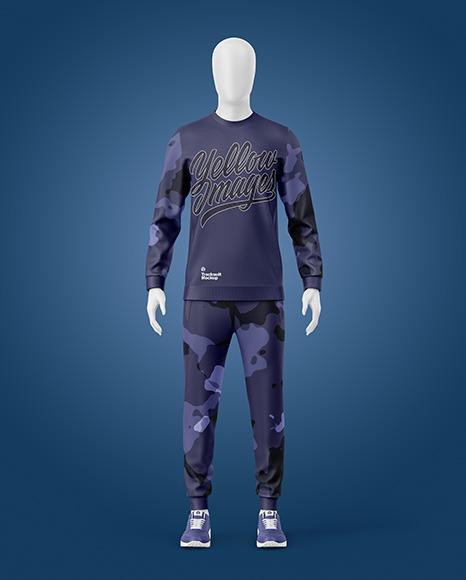 Sport Suit Mockup - Front View