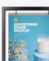 Advertising Board Frame Mockup