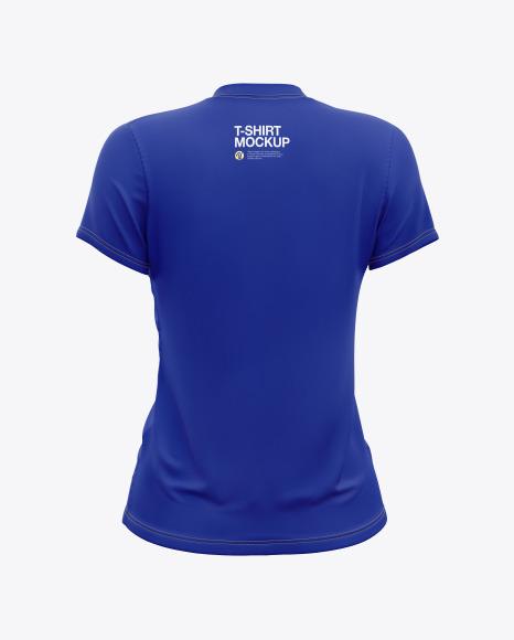 Women's T-Shirt Mockup
