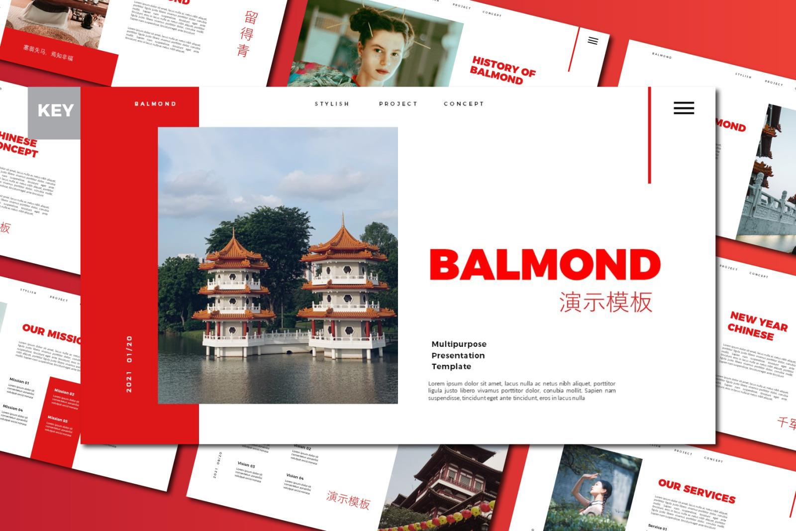 Balmond Keynote Template