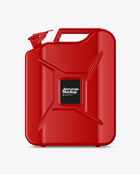 Fuel Jerrycan - Front View
