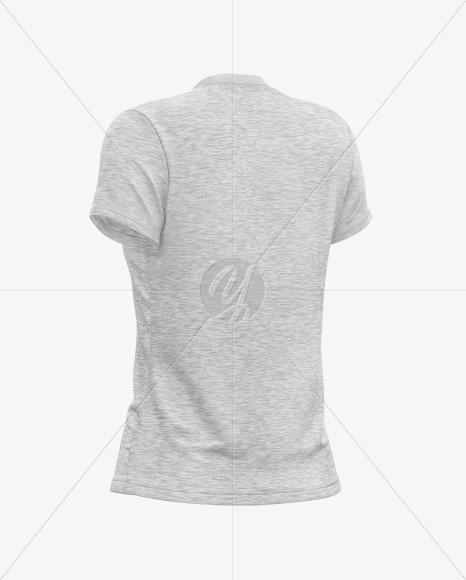 Melange Women's T-Shirt Mockup