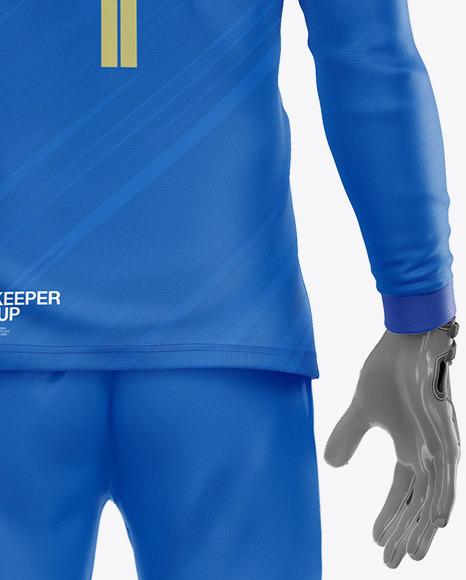 Goalkeeper Mockup - Back View