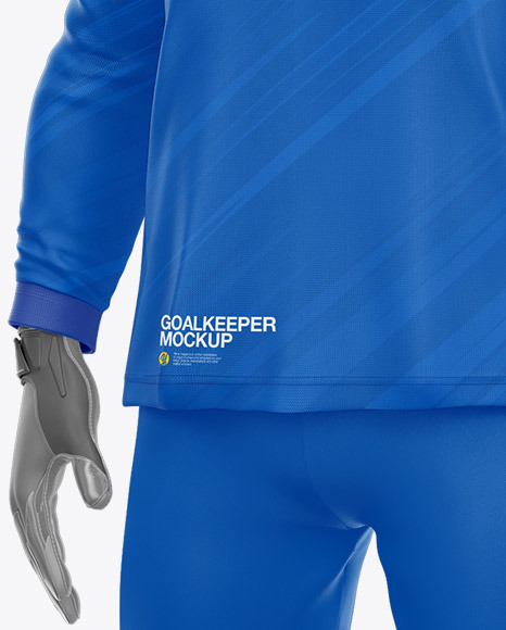 Goalkeeper Mockup – Half Side View