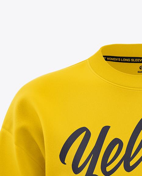 Women's Long Sleeve Sweatshirt - Front View