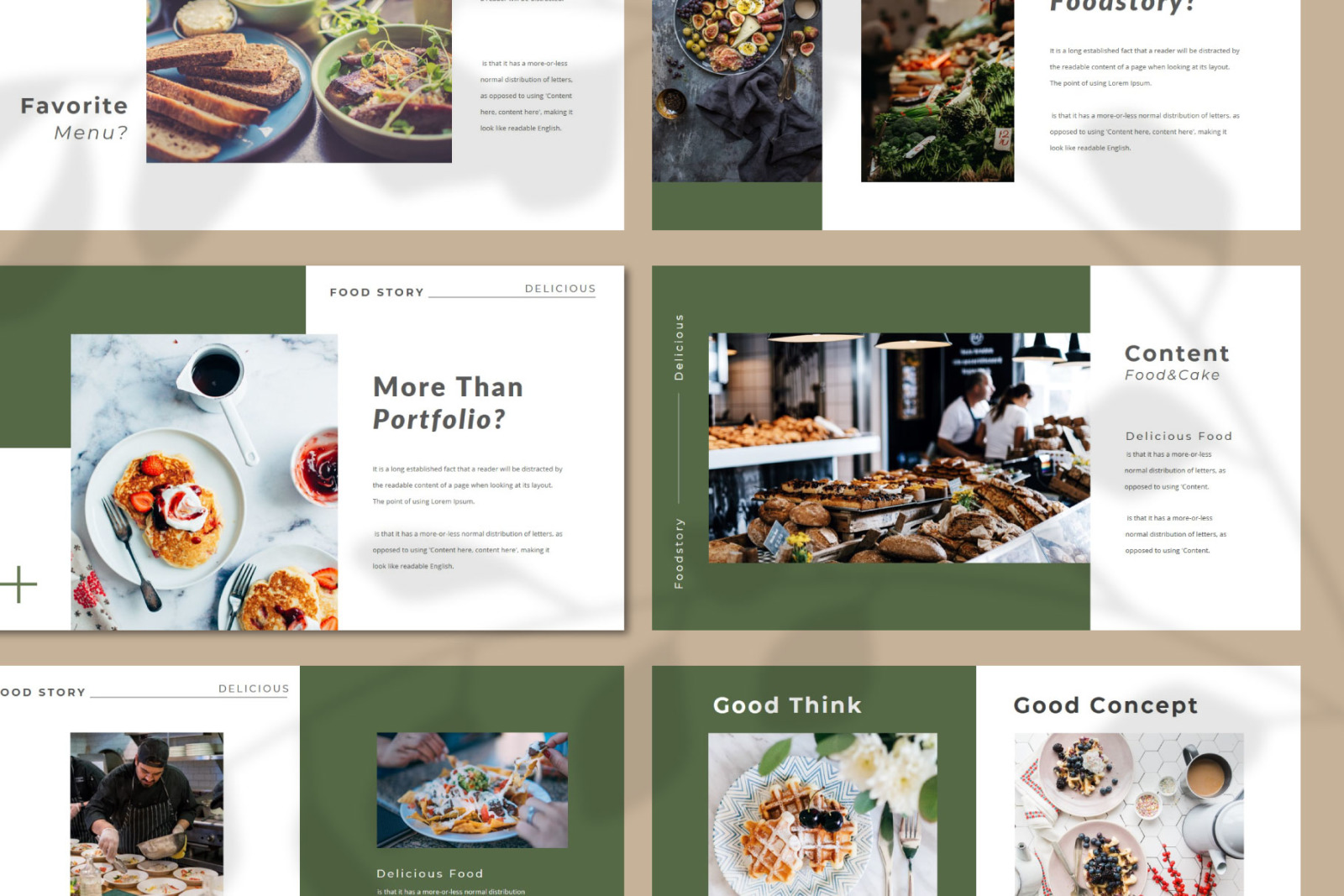 FOODRESTO Google Slides