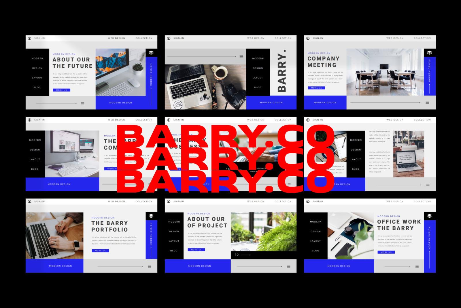 BARRY Google Slides