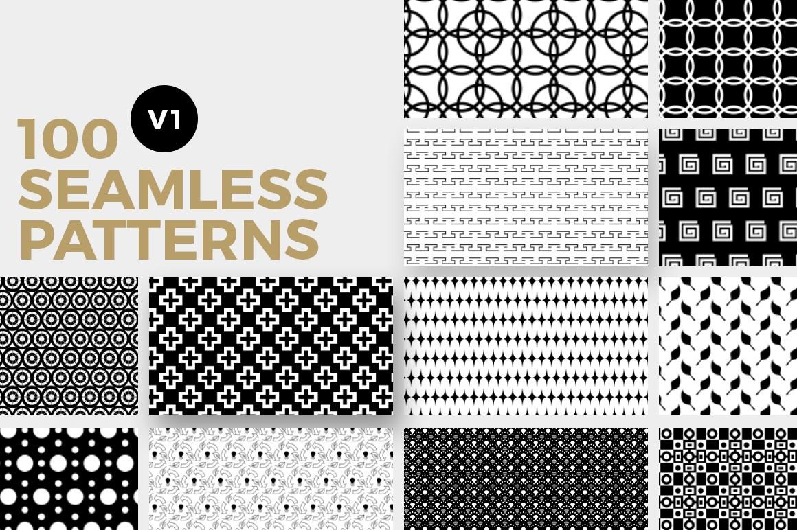 100 Seamless Patterns