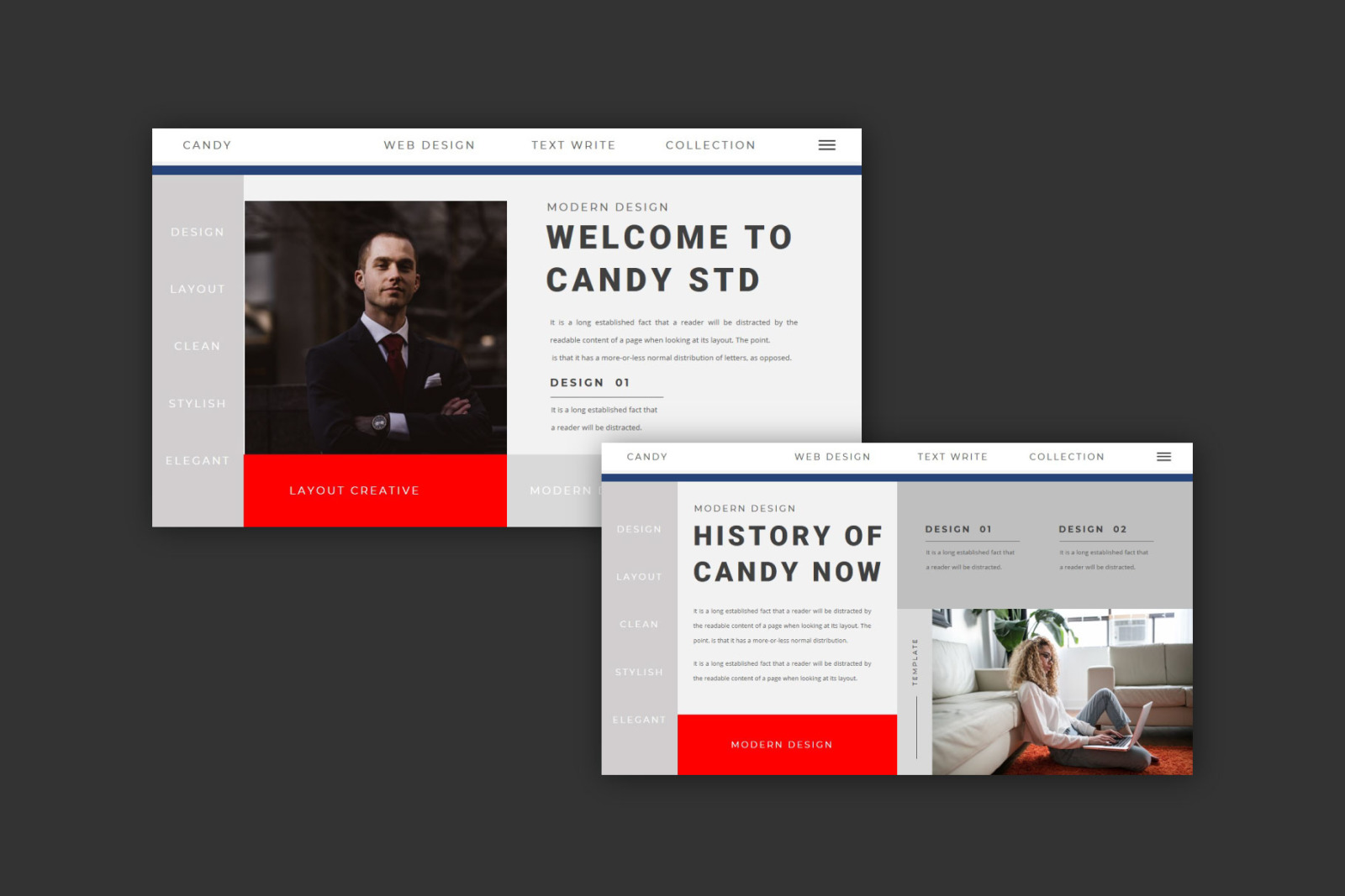 CANDY Google Slides