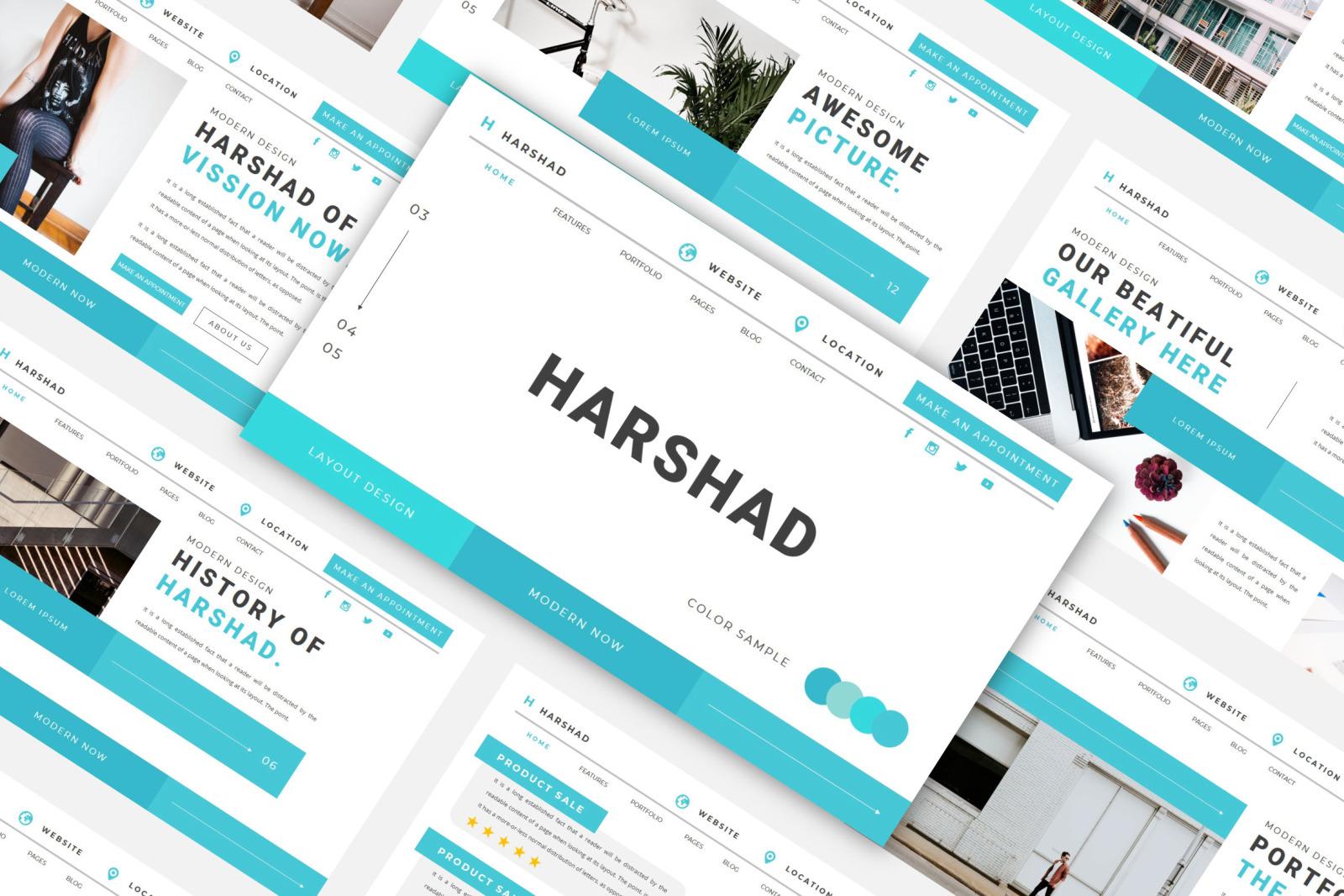 HARSHAD Google Slides