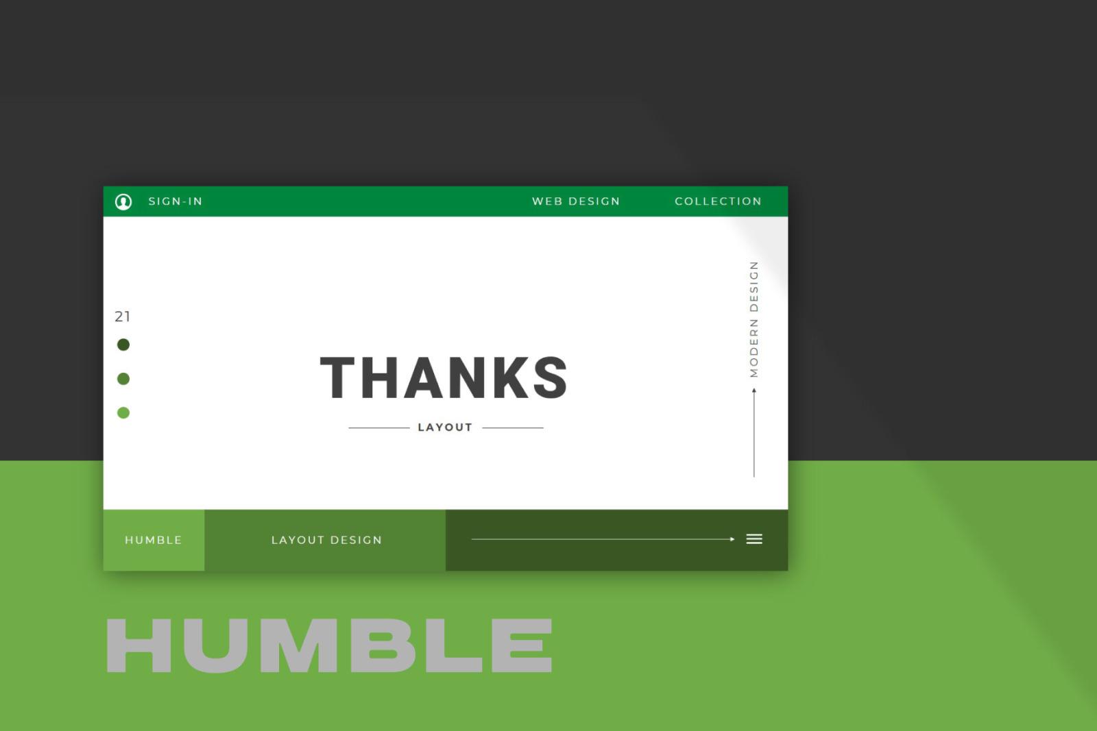 HUMBLE Google Slides
