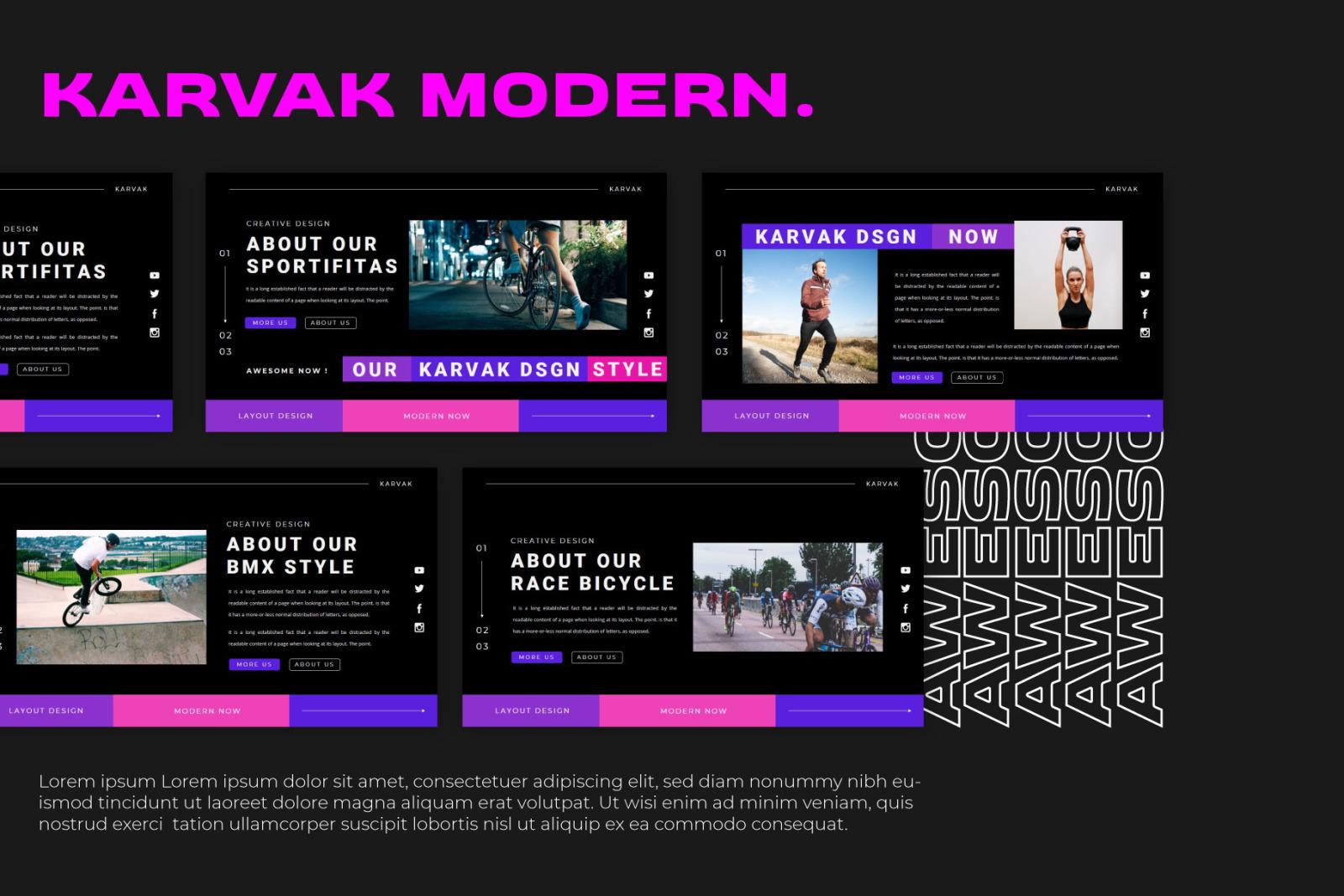 KARVAK Google Slides
