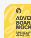 Advertising Board Mockup