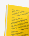 Two Hardcover Books w/ Fabric Covers Mockup