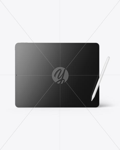 Apple iPad Pro w/ Pen Mockup
