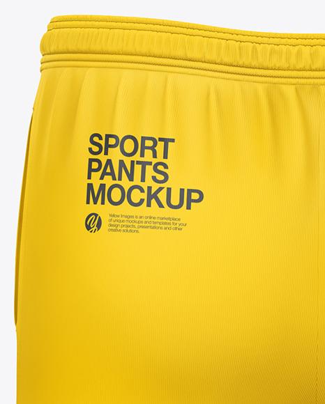 Men's Sport Pants Mockup