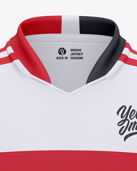 Soccer Jersey / T-Shirt Mockup - Front View