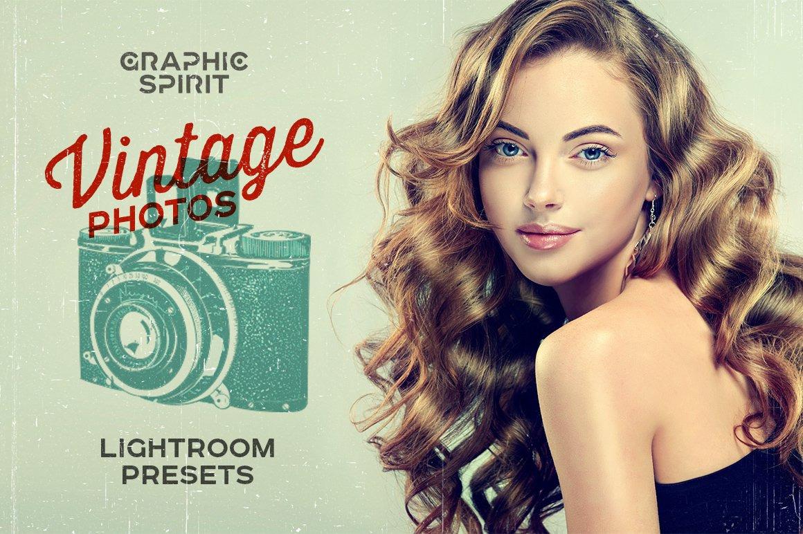Vintage Photos Lightroom Presets Set