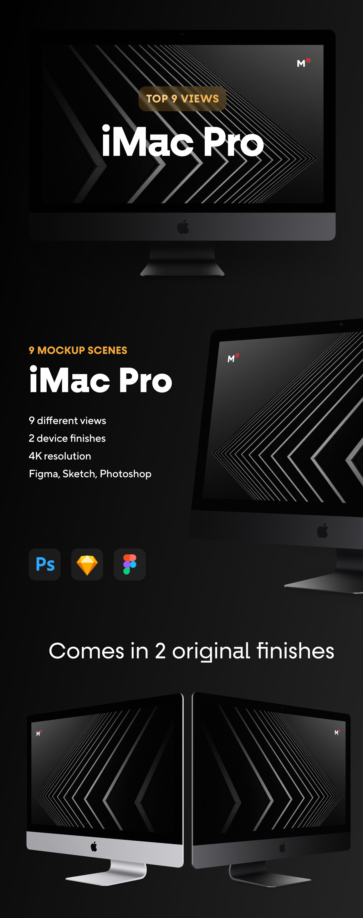 Top 9 iMac Pro Mockups
