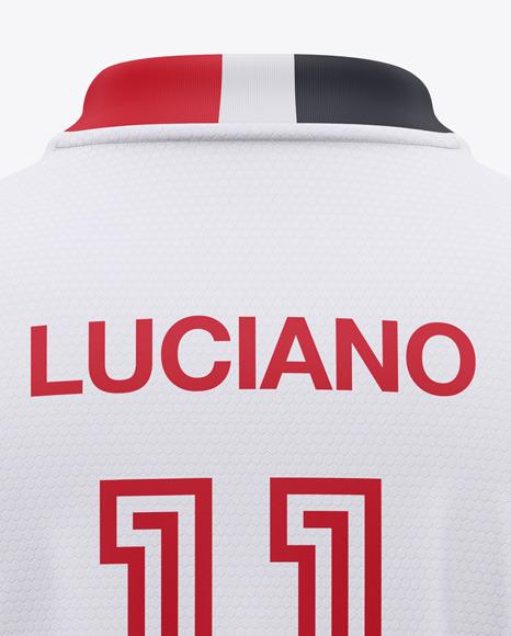 Soccer Jersey / T-Shirt Mockup - Back View