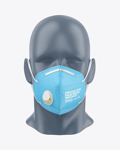Protective Face Mask Mockup