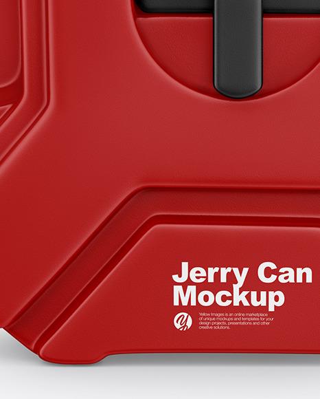 Fuel Jerry Сan Mockup