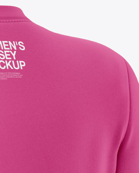 Women's Long Sleeve Jersey Mockup