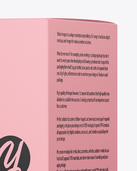 Frosted Cosmetic Jar with Box Mockup