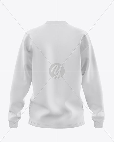 Women's Long Sleeve Sweatshirt - Back View